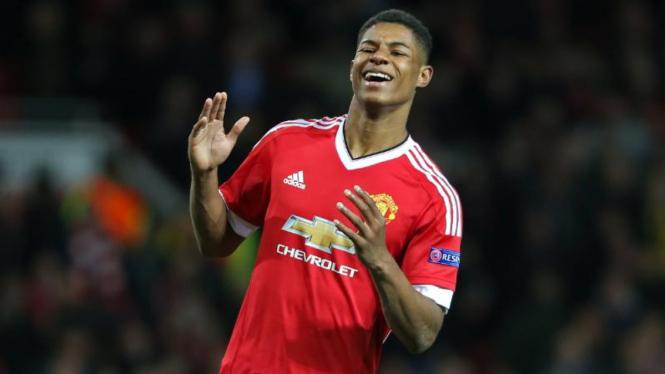 Striker muda Manchester United, Marcus Rashford
