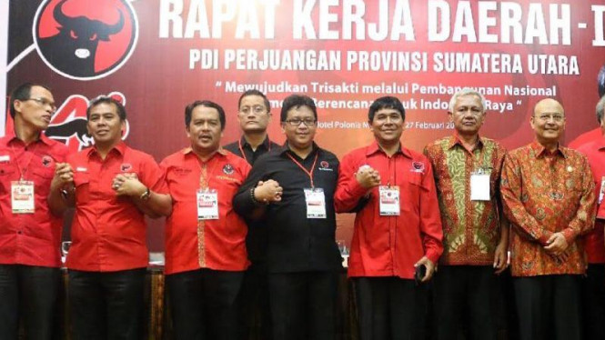 Hasto dan PDIP di Sumatera Utara
