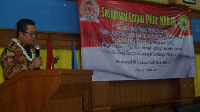 Wakil Ketua MPR RI Mahyudin