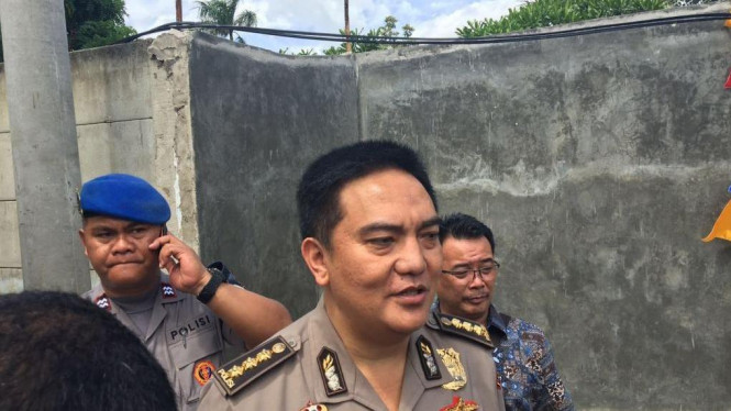 Kabid Humas Polda Metro Jaya Kombes M.Iqbal di Jakarta
