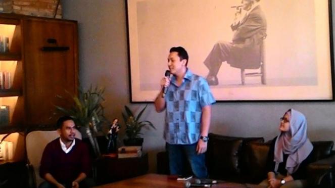 Ketua Kawan Jokowi, Diaz Hendropriyono