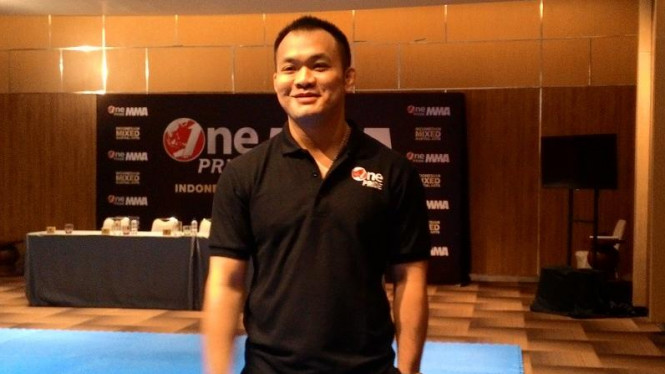Presiden Direktur PT Merah Putih Berkibar, penyelenggara One Pride MMA, Fransino Tirta.