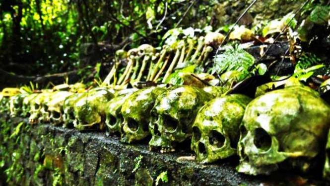 Kuburan Bali (Desa Trunyan)
