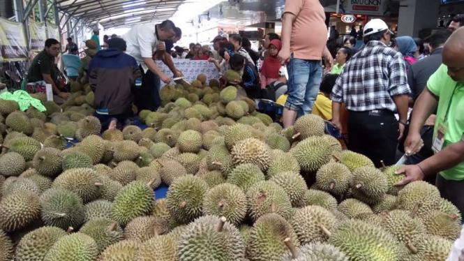 Festival durian di Blok M.