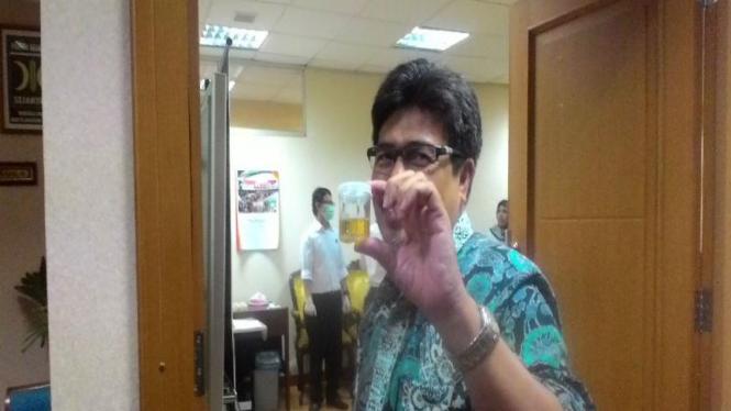 Fraksi PKS di DPR RI melakukan tes urine