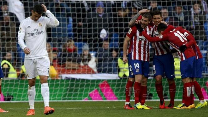 Laga Real Madrid melawan Atletico Madrid
