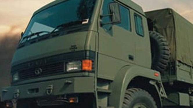 Ilustrasi kendaraan militer