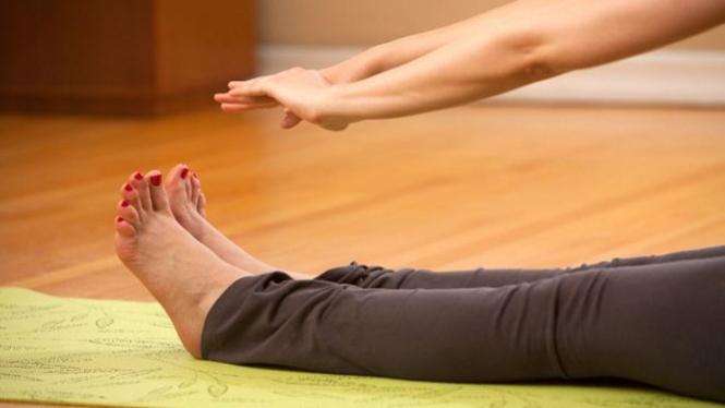 Latihan menjaga kesehatan tubuh.