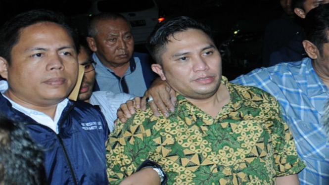 Anggota DPR RI dari Fraksi PPP, Ivan Haz, ditahan Polda Metro Jaya beberapa waktu lalu.