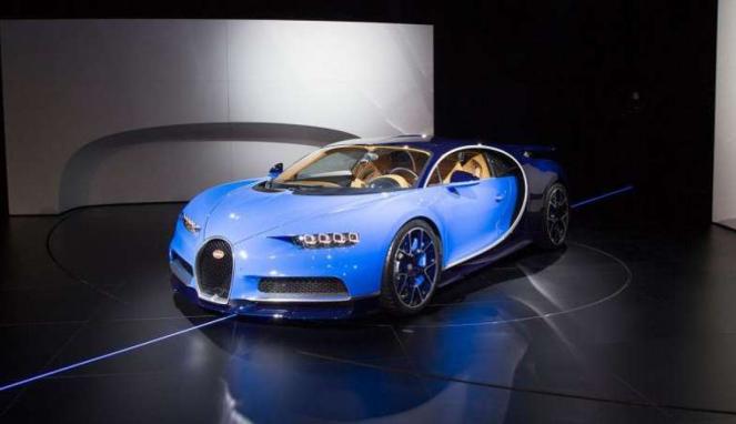 Bugatti Chiron.