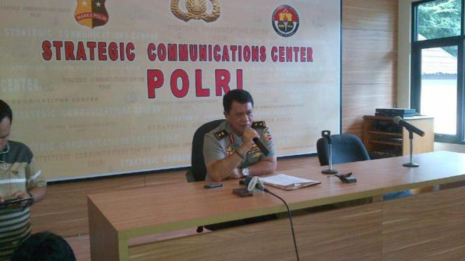 Kepala Divisi Hubungan Masyarakat Polri Inspektur Jenderal Anton Charliyan