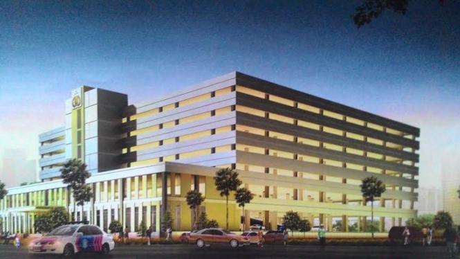 Rencana bentuk gedung baru Polda Metro Jaya