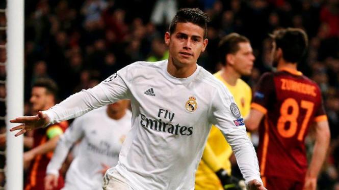 Pemain Real Madrid, James Rodriguez