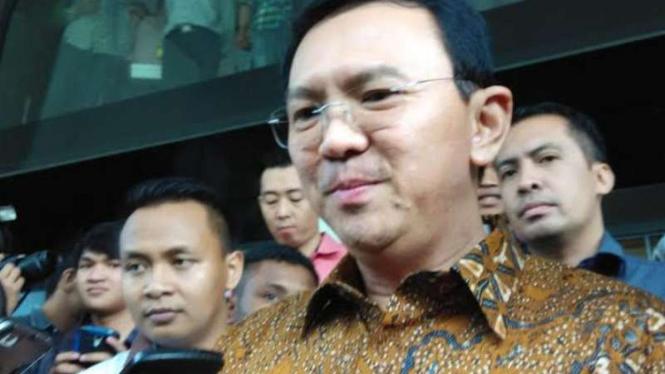 Gubernur DKI Basuki Tjahaja Purnama.