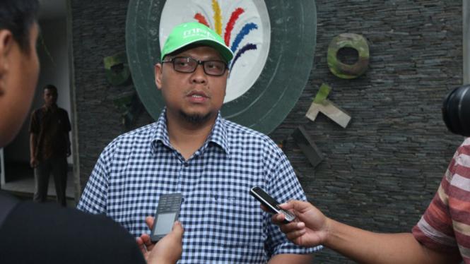 Anggota Tim Sosialisasi Empat Pilar MPR dari Fraksi PKB Lukman Edy