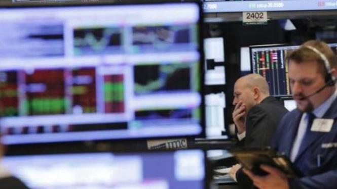 Bursa Wall Street Amerika Serikat.