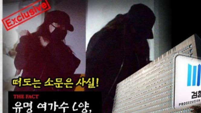 Artis Korea diduga terlibat kasus prostitusi