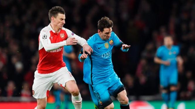 Arsenal melawan Barcelona di Liga Champions