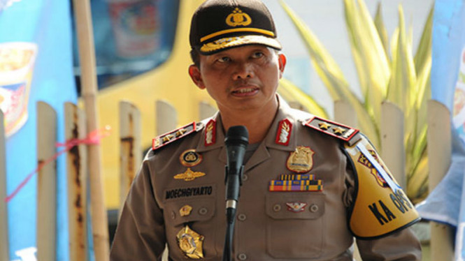 Kepala Polda Metro Jaya, Inspektur Jenderal Polisi Moechgiyarto.