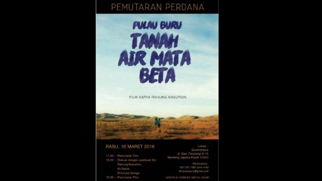 Film Pulau Buru: Tanah Air Beta