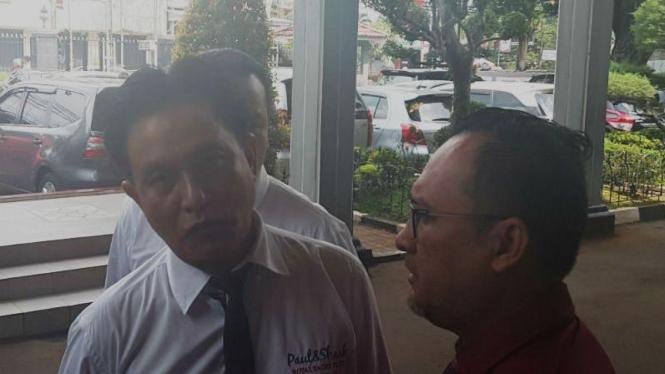Calon Gubernur DKI Jakarta, Yusril Ihza Mahendra di Pengadilan Negeri Jakarta Selatan