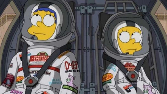 The Simpsons edisi misi ke Planet Mars