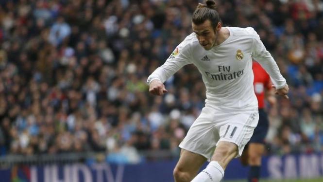Pemain Real Madrid, Gareth Bale.