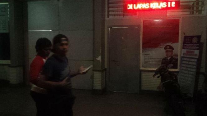 Rusuh di Lembaga Pemasyarakatan (Lapas) Kelas 1 A Bandar Lampung