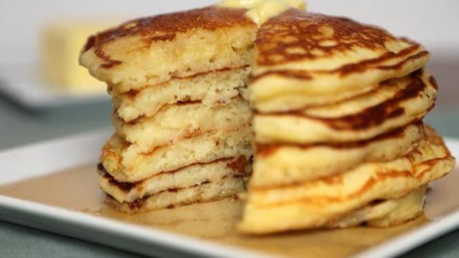 pancake lembut