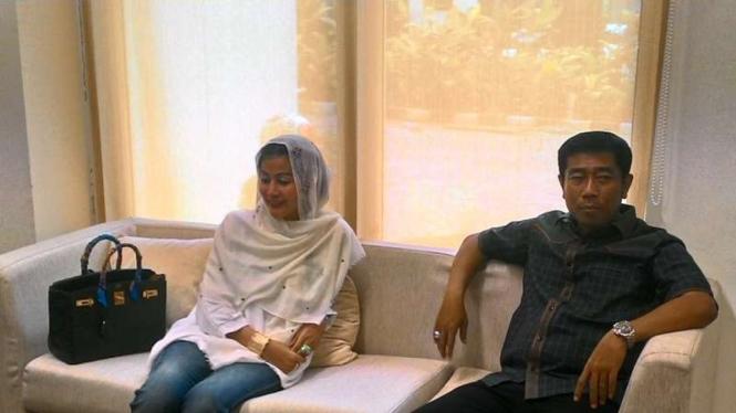 Haji Lulung dan Hasnaeni Moein