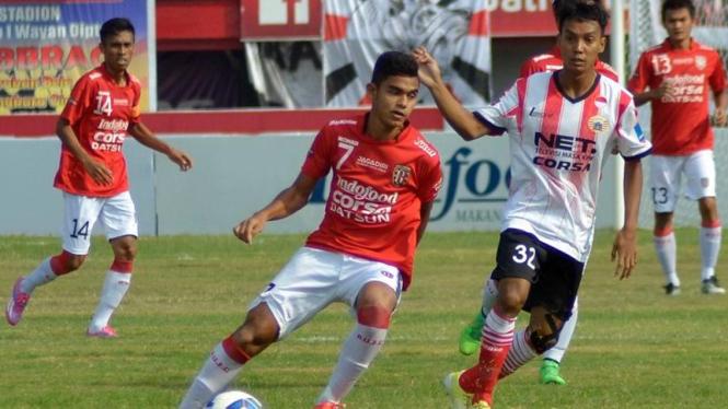 Pertandingan Bali United vs Persija di Piala Bhayangkara