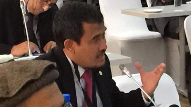 Wakil Ketua BKSAP (Badan Kerjasama Antar Parlemen) DPR RI Rofi Munawar