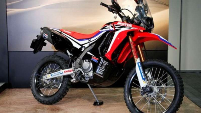 Prototipe motor Honda CRF250 Rally
