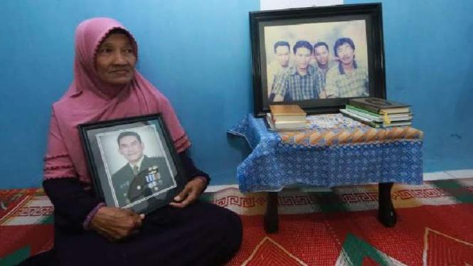 Keluarga Kolonel Infanteri Heri Setiyadi