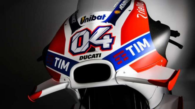 Motor yang digunakan tim Ducati di MotoGP.