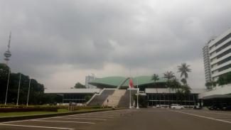Gedung DPR/MPR.