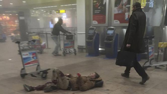 Ledakan di Bandara Zaventem, Belgia