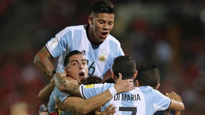 Pemain Timnas Argentina