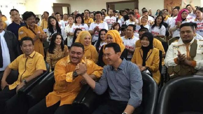 Partai Hanura menyatakan dukungan Ahok jadi calon Gubernur DKI