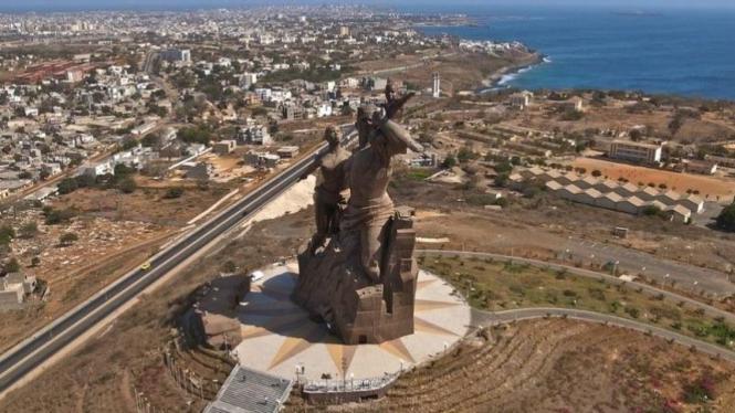 Monumen Renasissance di Afrika