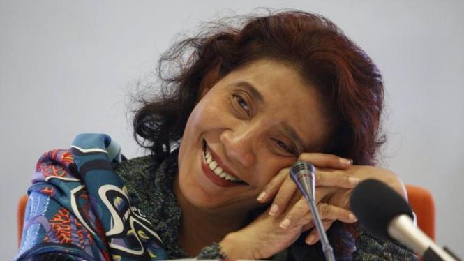 Menteri Kelautan dan Perikanan, Susi Pudjiastuti.