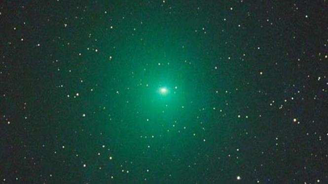 Komet Linear hijau