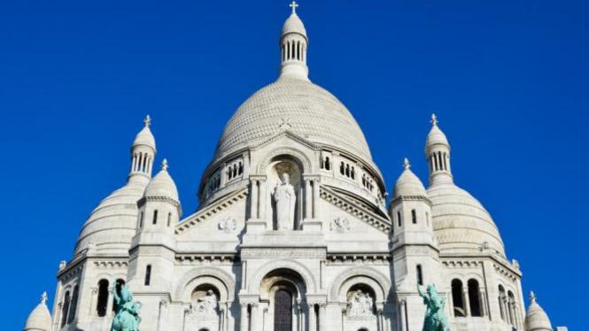 Gereja Sacre-Coeur Basilica, Paris.