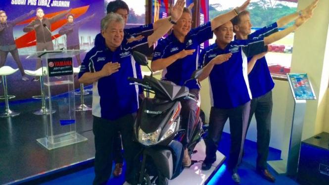 Peluncuran Yamaha Mio Z di Sentul, Bogor, Rabu (31/3/16).
