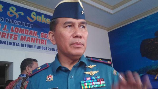 Komandan Pangkalan Utama TNI Angkatan Laut (Danlantamal) VIII Manado, Laksamana Pertama TNI Manahan Simorangkir