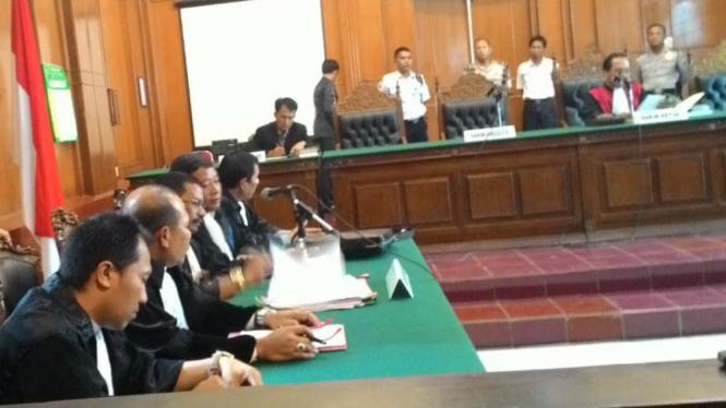 Sidang praperadilan La Nyalla Mattaliti di Pengadilan Negeri Surabaya