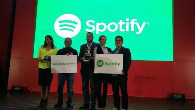 Spotify resmi hadir di Indonesia.