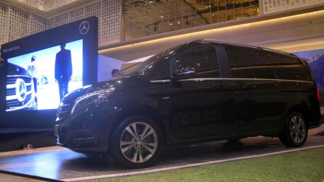 Mercedes-Benz luncurkan MPV Besar New V-Class
