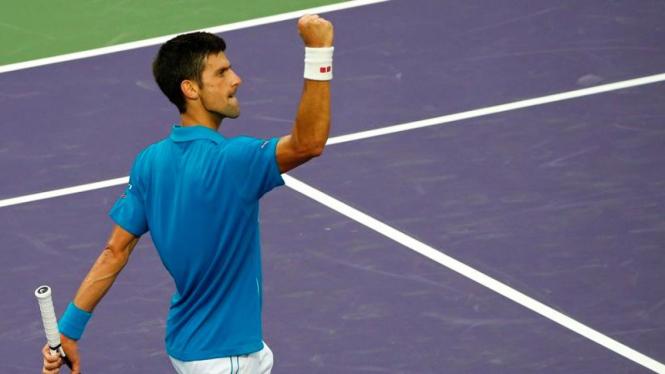 Petenis Serbia, Novak Djokovic.