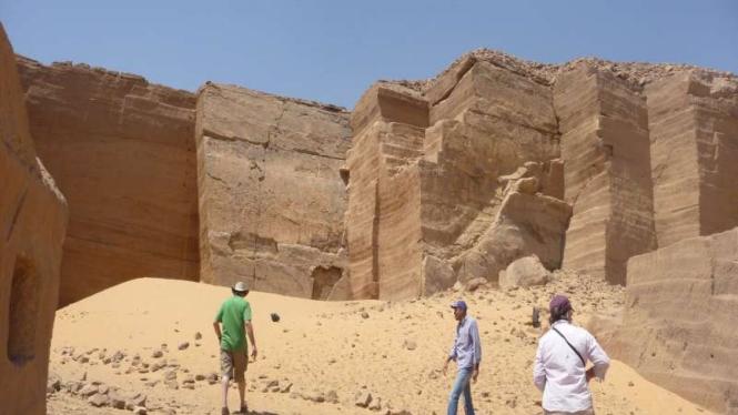 Situs penggalian Gebel el Sisila di Mesir